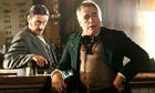 Ian McShane and Brian Cox in Deadwood