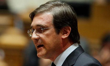 Pedro Passos Coelho, the Portuguese prime minister