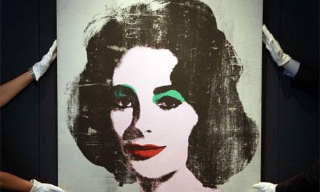 Andy Warhol: Portrait of Elizabeth Taylor
