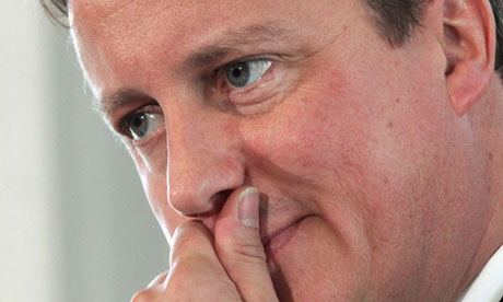 Britain's Prime Minster David Cameron