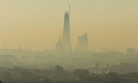 Summer smog in London, October 2