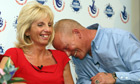 EuroMillions winners Dave and Angie Dawes 11/10/11