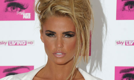 katie price blond hair