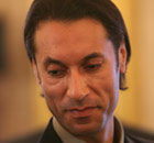 Mutassim Gaddafi, son of Muammar Gaddafi 