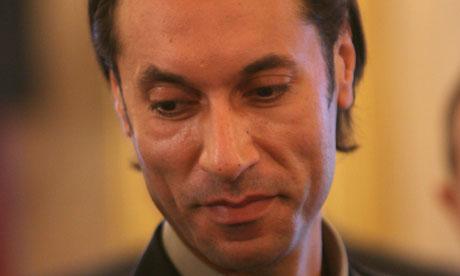 Mutassim Gaddafi, son of Muammar Gaddafi