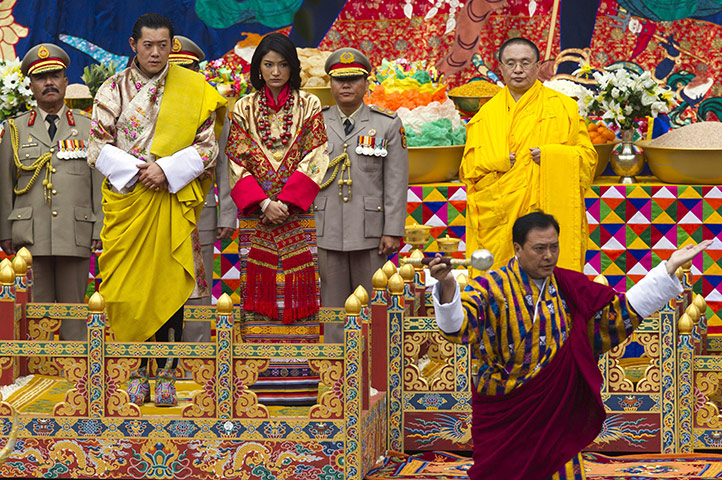 In pictures: The Royal wedding nuptials in Bhutan