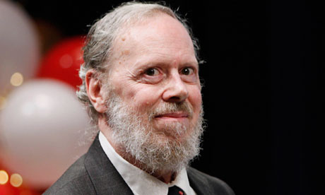 Dennis Ritchie in May 2011, when he was awarded the Japan prize. Photograph: Victoria Will/AP Images for the Japan Prize Foundation