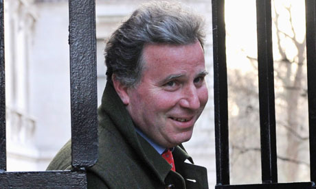 Oliver Letwin: At least he didn't throw the papers into the bushes