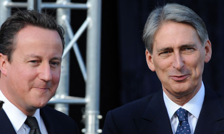 David Cameron and Philip Hammond