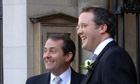 Adam Werritty and Liam Fox