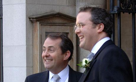 Adam Werritty and Liam Fox