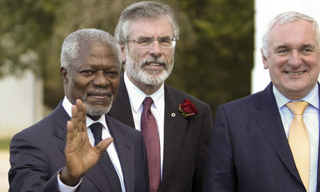 Kofi Annan call for peace at Spanish Eta summit