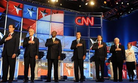 Republican presidential candidates debate