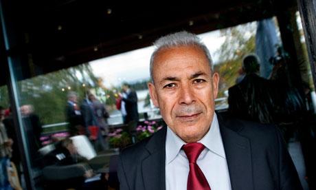 Burhan Ghalioun of the Syrian National Council