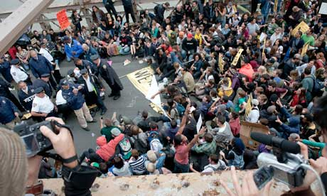 Occupy Wall Street protesters arrested