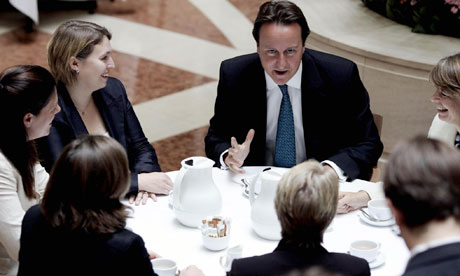 File photo of David Cameron with recently selected female Tory candidates in 2006