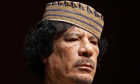 Muammar Gaddafi vowed not to surrender after Nato airstrikes began