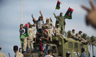 Libyan people celebrate the death of the Libyan fallen leader Muammar Gaddafi, Tripoli