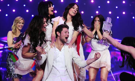 Azerbaijan win this year's Eurovision song contest.