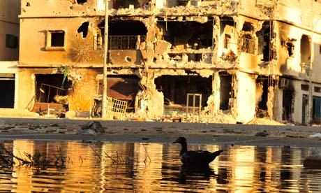 Libya devastated