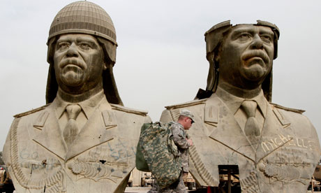 saddam statues 007 Facts about the Iraq invasion