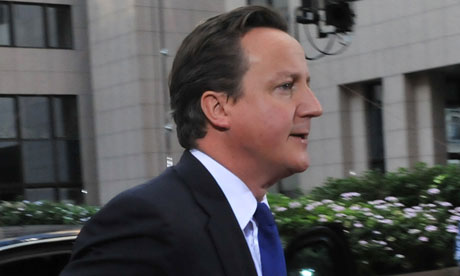 Nicolas Sarkozy tells David Cameron: shut up over the euro