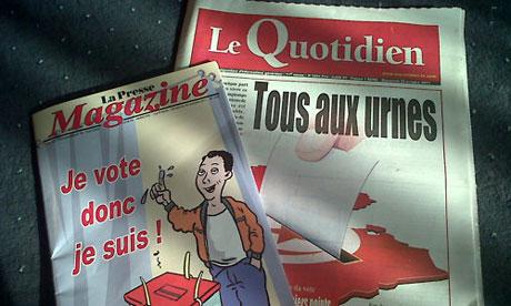 Tunisian press Sunday 23 October