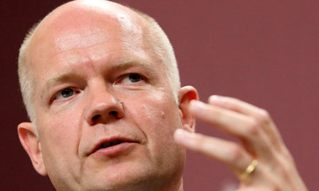 William Hague says the EU referendum vote 'is the wrong question at the wrong time'