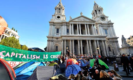 Occupy London protest at St Paul's