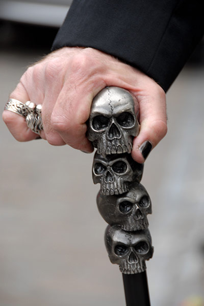 Walking stick canes and walking sticks pinterest - Goths Growing Old Gracefully Education The Guardian