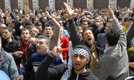 Syrian anti-government protesters