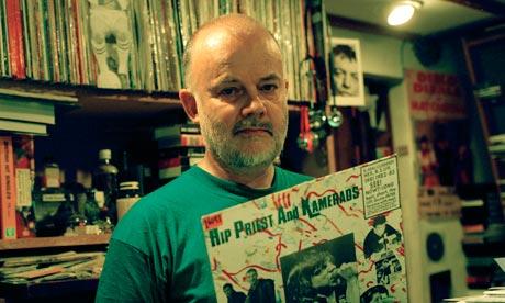 DJ John Peel at home in Suffolk