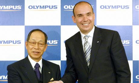 Tsuyoshi Kikukawa with Michael Woodford