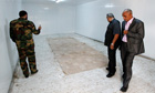 Meat store where Gaddafi's body was kept