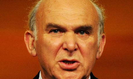 Vince Cable was ordered to pay a £500 penalty by HM Revenue and Customs