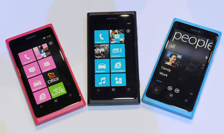 Nokia Lumia 800 prices as a spreadsheet: how much does it cost?