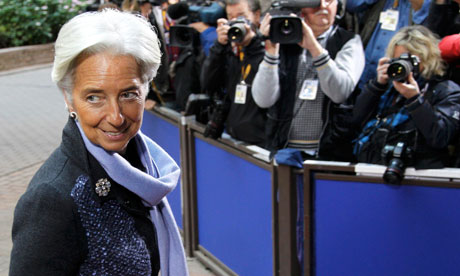 Christine Lagarde: chic in lilac