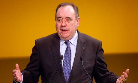 Alex Salmond's secret: apps and chutzpah