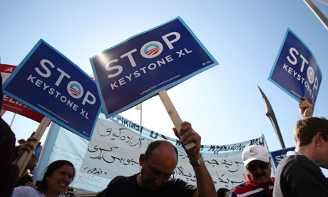 Keystone XL pipeline protests