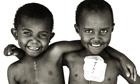 Kenya orphans Weddy and Eunice