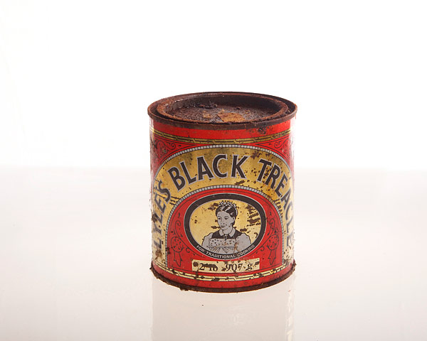 Vintage Food Packaging: Vintage food packaging - Black Treacle