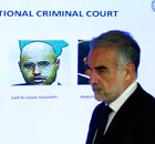 Chief prosecutor Luis Moreno-Ocampo comments on arrest warrants at the Hague on 28 June.