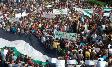 Up to 40 reported dead in Syria after security forces attack protesters