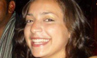Meredith Kercher. The English student was murdered in Perugia, Italy, where she was studying