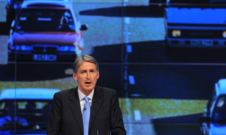 Philip Hammond told the Tory conference the UK needed to invest in its future