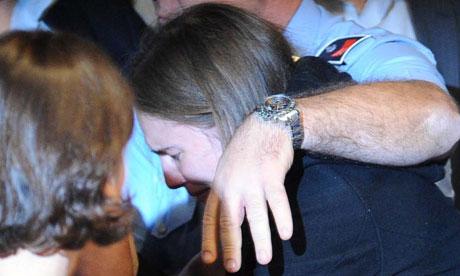 Amanda Knox released in Perugia