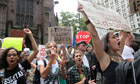 Stop: Occupy Wall Street protesters
