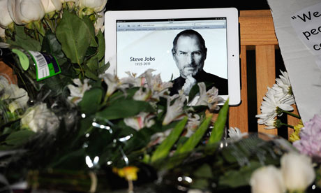 Steve Jobs, Apple memorial