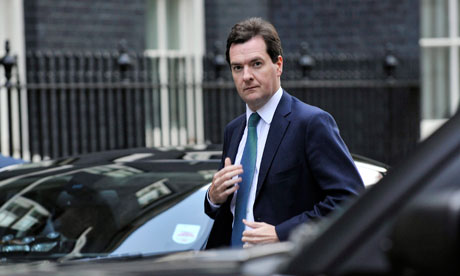 George Osborne in Downing Street