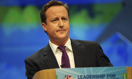 David Cameron Conservatives Party Conference - Manchester 2011
